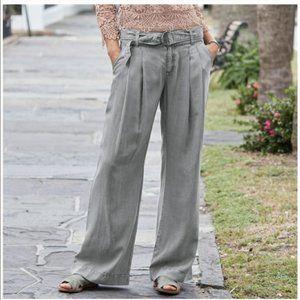 SUNDANCE Everyday Elegance Tencel Wide Leg Pants